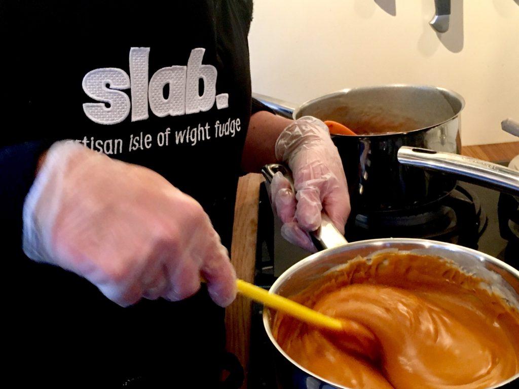 Making of shots - Slab Artisan Fudge