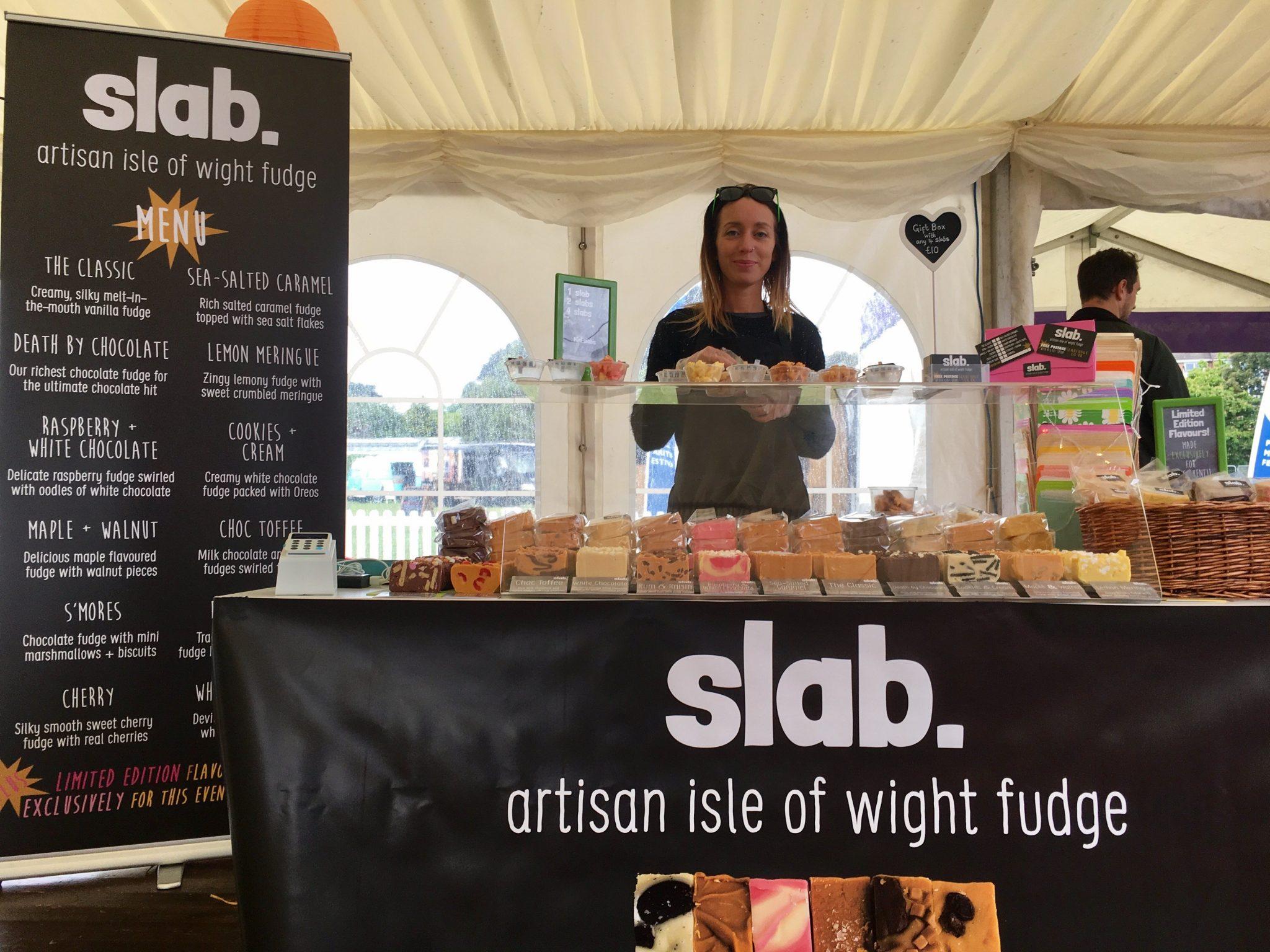 Slab Artisan Fudge - Taste of the South, Poole