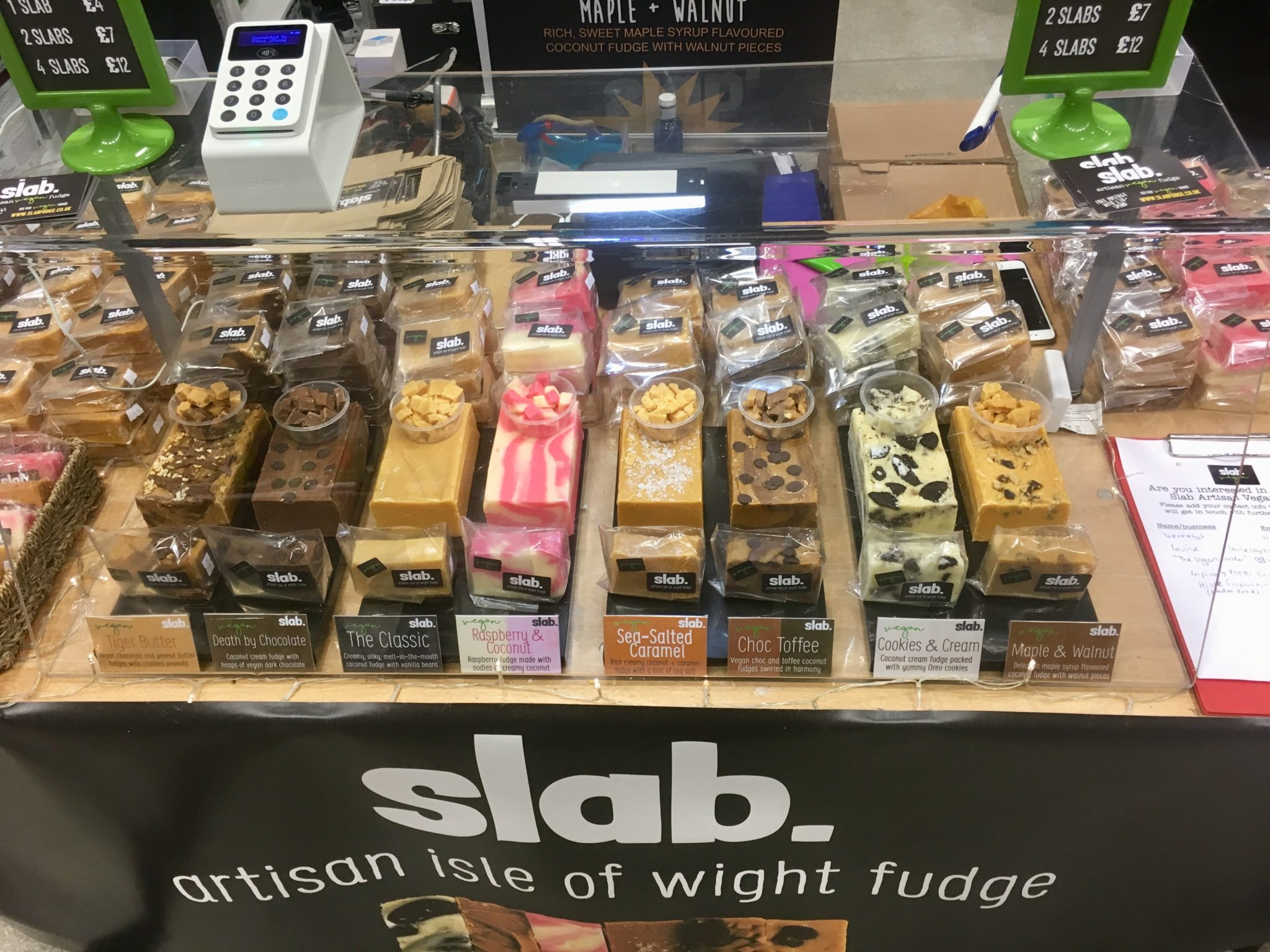 Slab Artisan Fudge @ Vegfest 3