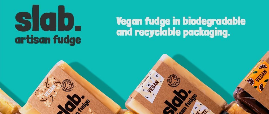 Slab Artisan Fudge - Banner Vegan 1
