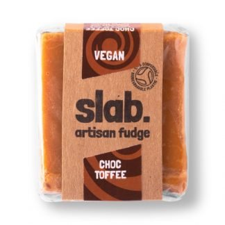 Slab Artisan Fudge - Vegan Choc Toffee Product Photo