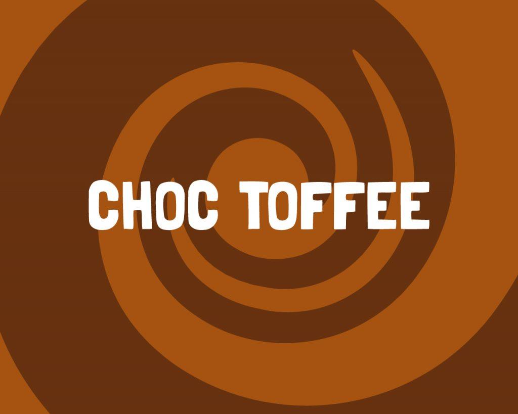 Slab Artisan Fudge - Choc Toffee Flavour Graphic