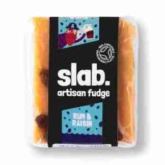 Slab Artisan Fudge - Rum & Raisin Product Photo