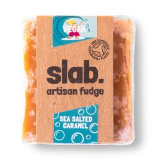 Slab Artisan Fudge - Vegan Sea Salted Caramel Product Photo