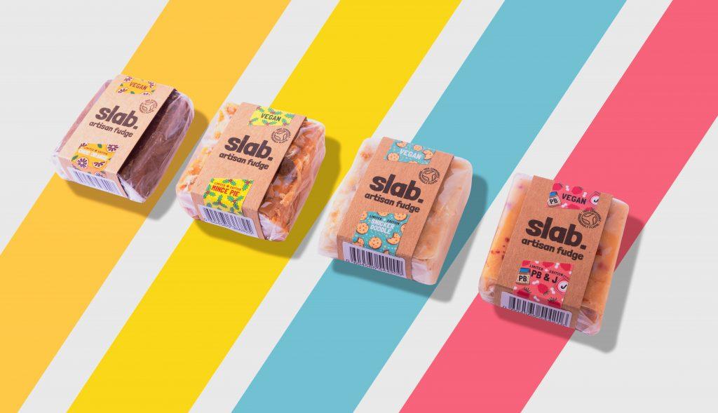 Slab Artisan Fudge Creative Photo - Limited Edition Stripes