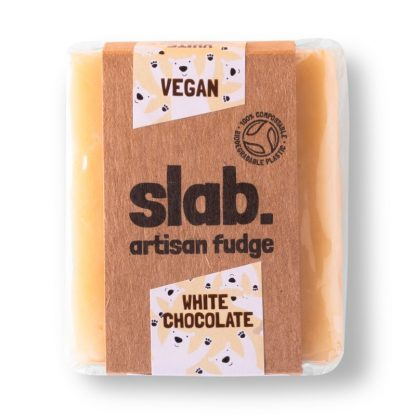 Slab Artisan Fudge - Vegan White Chocolate Product Photo