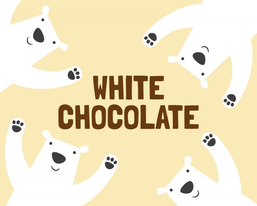 Slab Artisan Fudge - White Chocolate Flavour Graphic