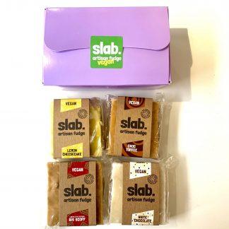 Slab Artisan Fudge - 4 Slab Vegan Gift Box