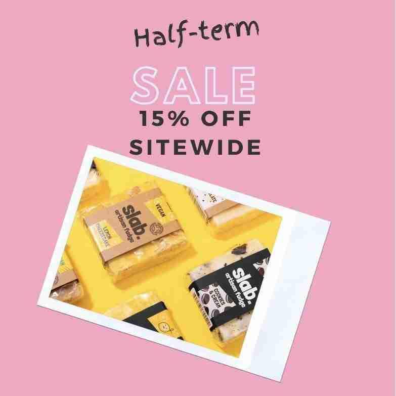 Slab Artisan Fudge - Half-term offer